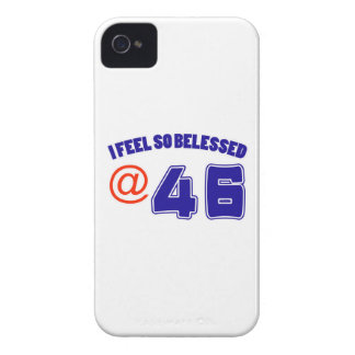 46th birthday design iPhone 4 cover