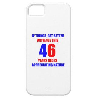 46th Birthday Design iPhone SE/5/5s Case