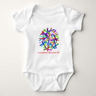 46th Birthday Gifts Baby Bodysuit