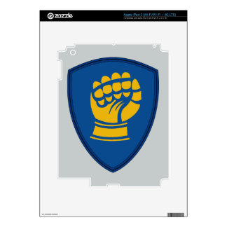 46th Infantry Division - Iron Fist Division iPad 3 Skin