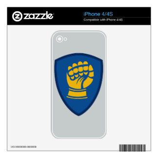 46th Infantry Division - Iron Fist Division iPhone 4S Skin