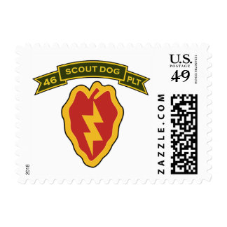 46th IPSD - 25th Infantry Stamp