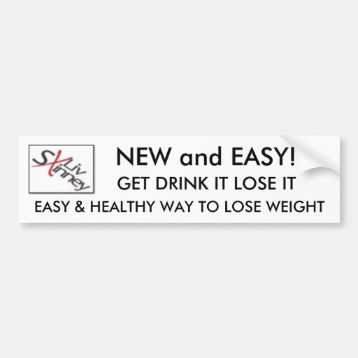 4709219, EASY & HEALTHY WAY TO LOSE WEIGHT , GE... BUMPER STICKERS