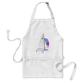 470  Racing Sailboat onedesign Olympic Class Adult Apron