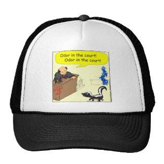 471 odor in the court Cartoon Trucker Hat
