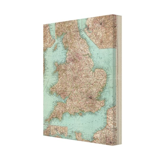 4748 Inghilterra, Galles Canvas Print