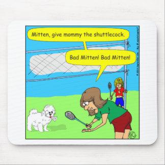 474 bad mitten Cartoon Mouse Pad
