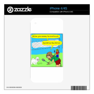 474 bad mitten Cartoon Skin For The iPhone 4