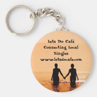 476343_low, Lets hacen el Caf que conecta Singl lo Llavero Redondo Tipo Pin