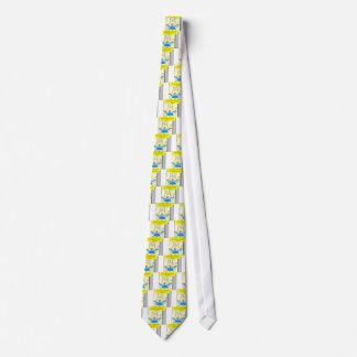 477 pain killers cartoon tie
