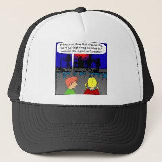 478 high five self cartoon trucker hat