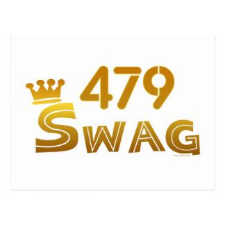 479 Arkansas Swag Postcard