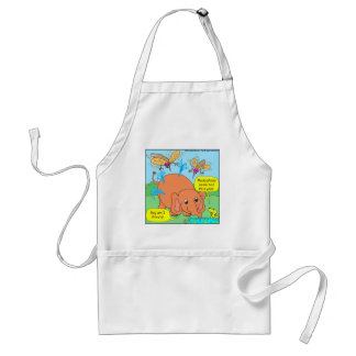479 mosquitos bad this year Cartoon Adult Apron