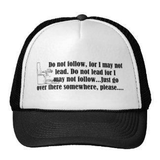 47-Do Not Follow.jpg Trucker Hat
