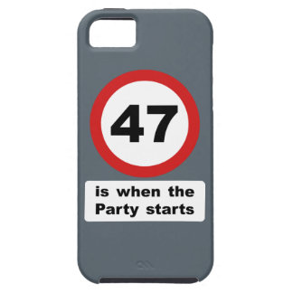 47 is when the Party Starts iPhone SE/5/5s Case