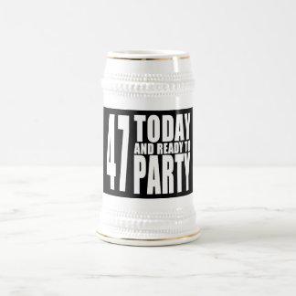 47.o Fiestas de cumpleaños: 47 hoy y aliste para Jarra De Cerveza