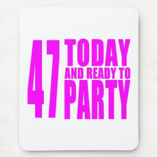 47.os cumpleaños de los chicas: 47 hoy y aliste tapetes de ratones