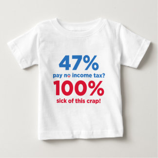 47% Pay No Taxes? Baby T-Shirt