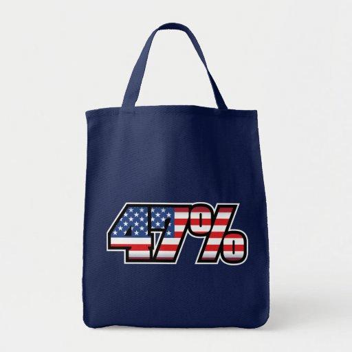 47 Percent Canvas Bag