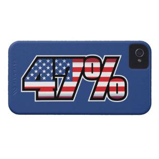 47 Percent Case-Mate iPhone 4 Case