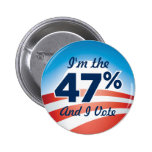 47 Percent Obama Button