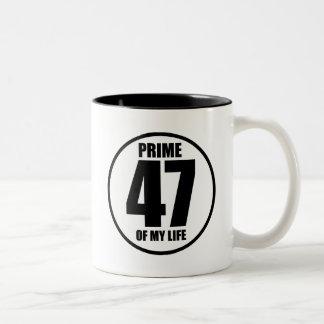 47 - prima de mi vida taza de dos tonos
