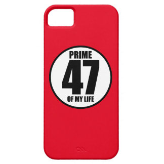 47 - prime of my life iPhone SE/5/5s case