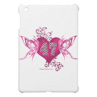 47 racing number butterfly cover for the iPad mini