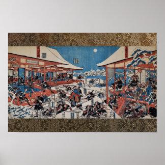 47 ronin Chushingura Poster