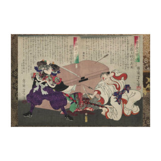 47 Ronin.The Vengence of Each of the Loyal Retaine Canvas Print