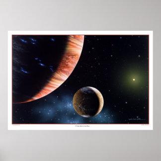 47 Ursae Majoris b and Moon Print