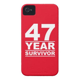 47 year survivor iPhone 4 case