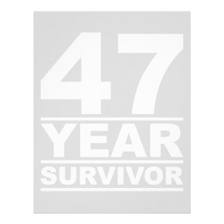 47 year survivor letterhead