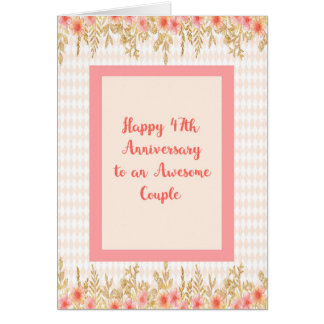 Name of 47th wedding anniversary