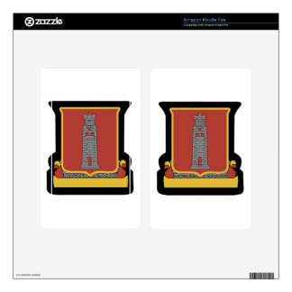 47th Armored Field Decal For Kindle Fire
