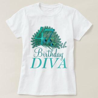 47th Birthday Diva Shirts