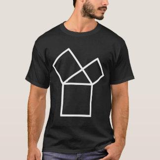47th Problem of Euclid, dark T-Shirt