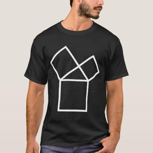 47th Problem of Euclid dark T_Shirt