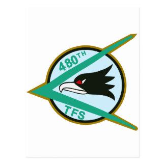 480th TFS Postcard