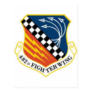 482nd Fighter Wing Postcard