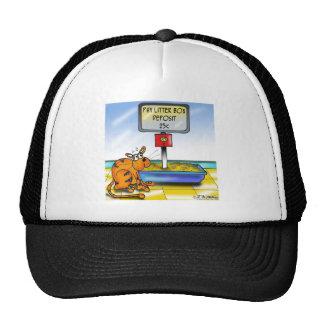 4833_cat_cartoon trucker hat