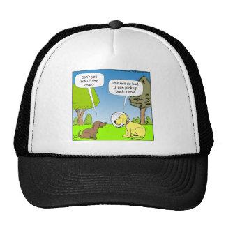 483 coja el cable básico en dibujo animado del gorra