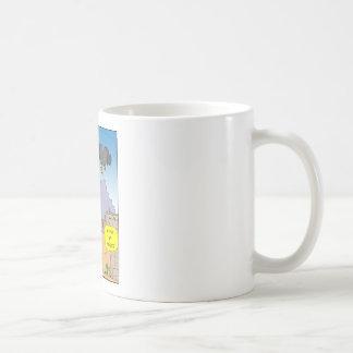 484 buzzard afraid of heights cartoon coffee mug