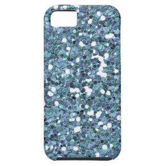 4865__desert-spring-glitter-blue LIGHT BLUE BLUES iPhone 5 Case