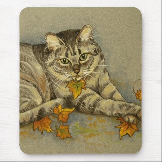 4872 Autumn Cat Mousepad