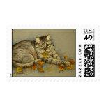 4872 Autumn Cat Postage