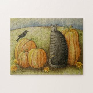 4874 Harvest Cat Puzzle