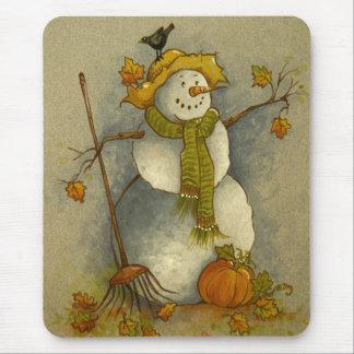 4878 Harvest Snowman Mousepad