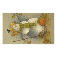 4878 Harvest Snowman Stickers