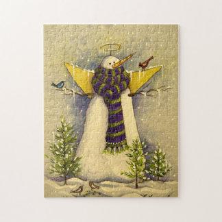 4881 Snow Angel & Birds Christmas Jigsaw Puzzle